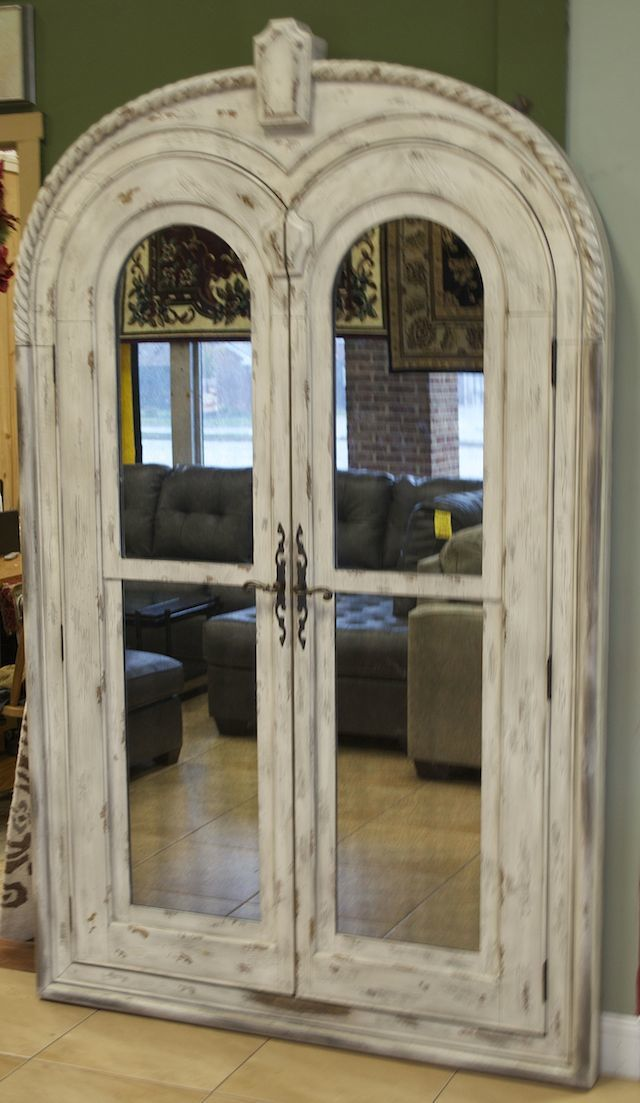 Unique Extra Large Rustic Jewelry Armoire made by Hooker FOR THE