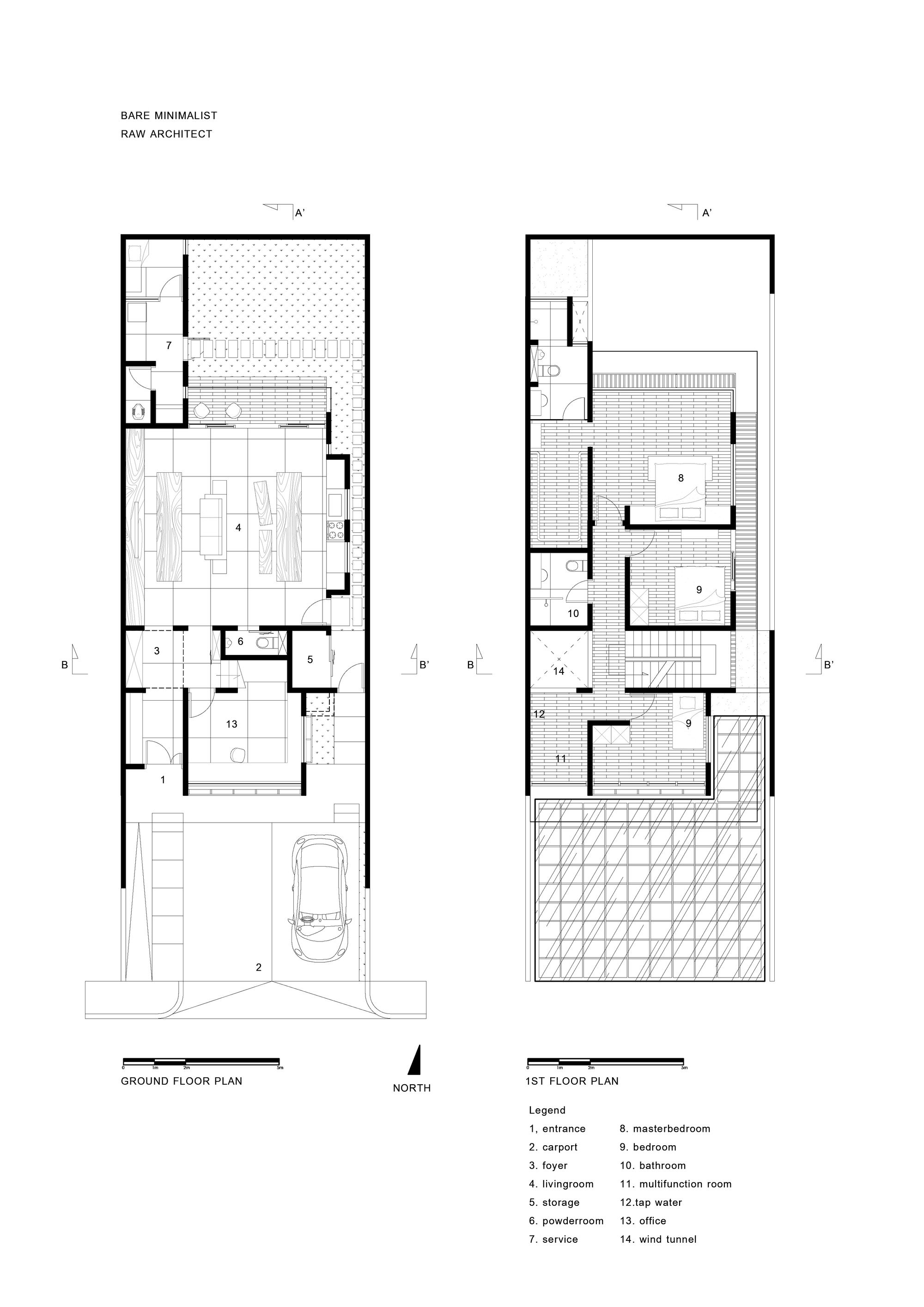 Gallery Of House In Jakarta Realrich Architecture Workshop 26 Narrow House Plans Small House Architecture Architecture House