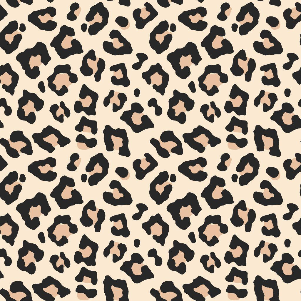 Jaguar Pattern Printed HTV Adhesive Vinyl Patterned