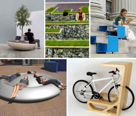 The Boring Benches Installed In Urban Areas Around The
