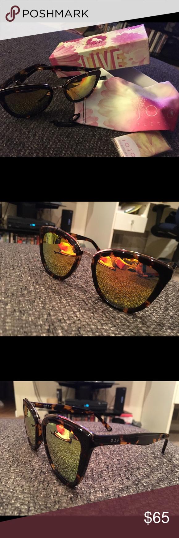 6a7046504eeb7 DIFF Eyewear JOJO Sunglasses JOJO Fletcher limited edition DIFF sunglasses.  Tortoise frame