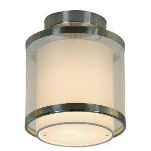 Filament Design Astoria 1 Light 8.5 in. Brushed Nickel Wall Mount Light with 3 Tier Shades-BP8942 at The Home Depot