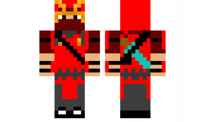 minecraft skin samurai