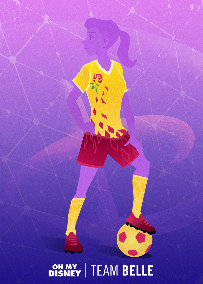 Women's World Cup Uniforms Inspired by Disney