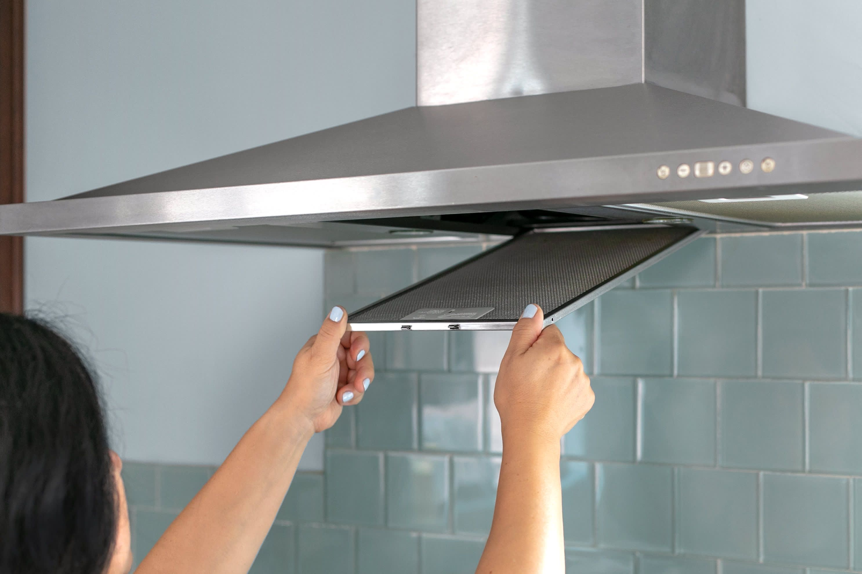 Hood Filter Maintenance Deep Clean Bathroom Bathroom Cleaning Stove Fan