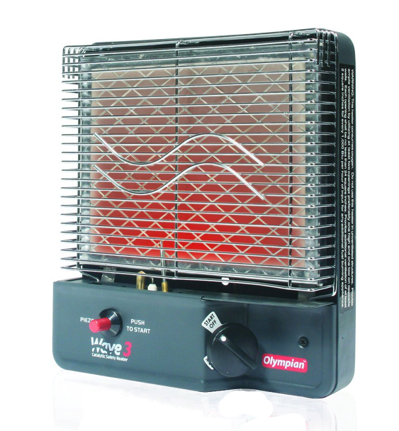 Camco 57331 Rv Van Wave 3 Catalytic Lp Gas Space Heater Camco Heater Camping Safety