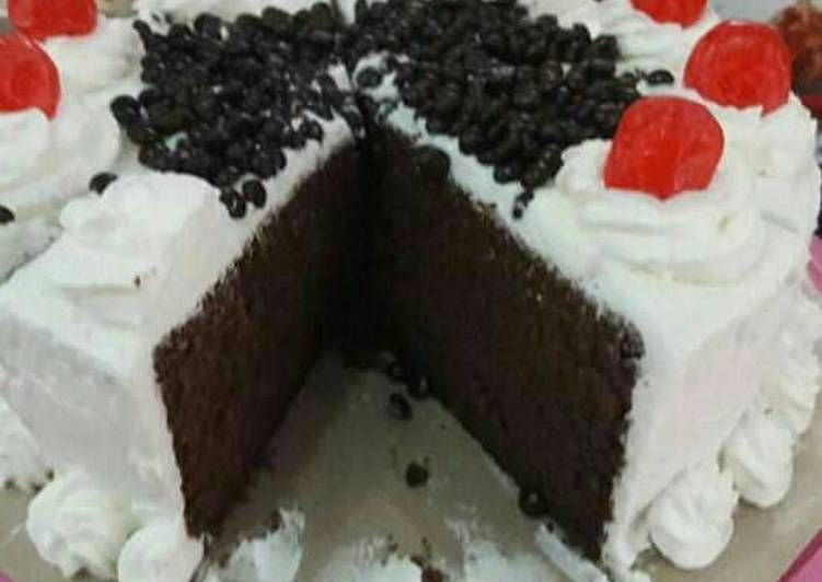 Resep Black Forest Lembut Nyoklat Kue Ulang Tahun Oleh Kheyla S Kitchen Resep Kue Ulang Tahun Ulang Tahun Kue