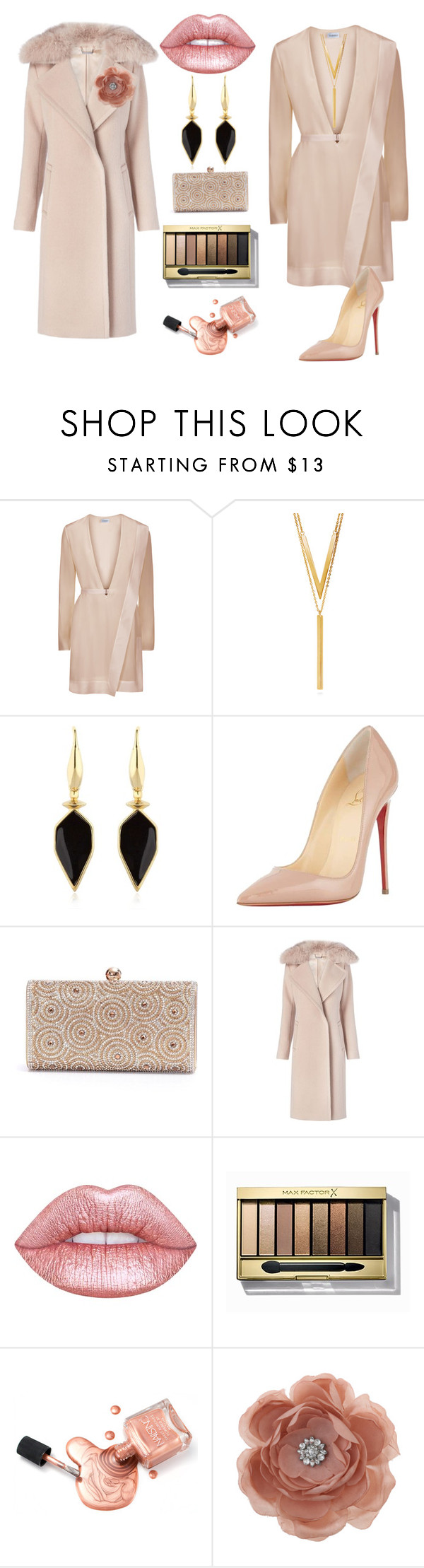 """Untitled #199"" by mddiva ❤ liked on Polyvore featuring BERRICLE, Isabel Marant, Christian Louboutin, Diane Von Furstenberg, Lime Crime, Max Factor and Miss Selfridge"