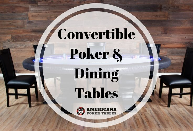 Pin by americana poker tables on convertible poker