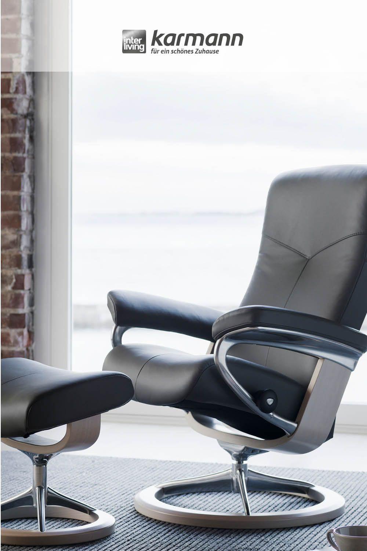 Urbaner Komfort Leben Lieben Geniessen Relaxsessel Mobel Karmann Stressless Sessel