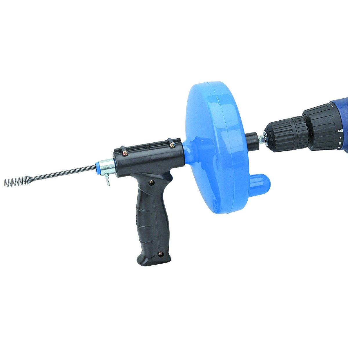 25 Ft Drain Cleaner With Drill Attachment Drain Cleaner Plumbing Drains Clean Sink