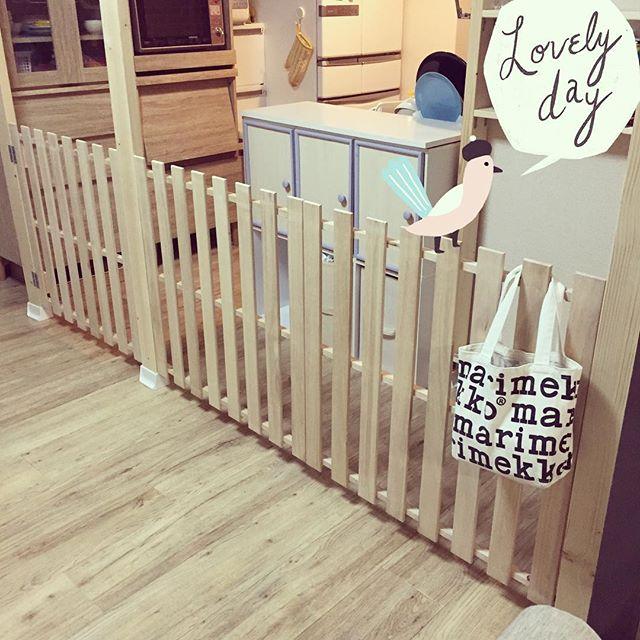 ベビーゲート手作りしよう 安全対策を含めた簡単diyでの作り方をご紹介 暮らし の クラシーノ ベビーゲート 手作り ベビーゲート 赤ちゃん用家具