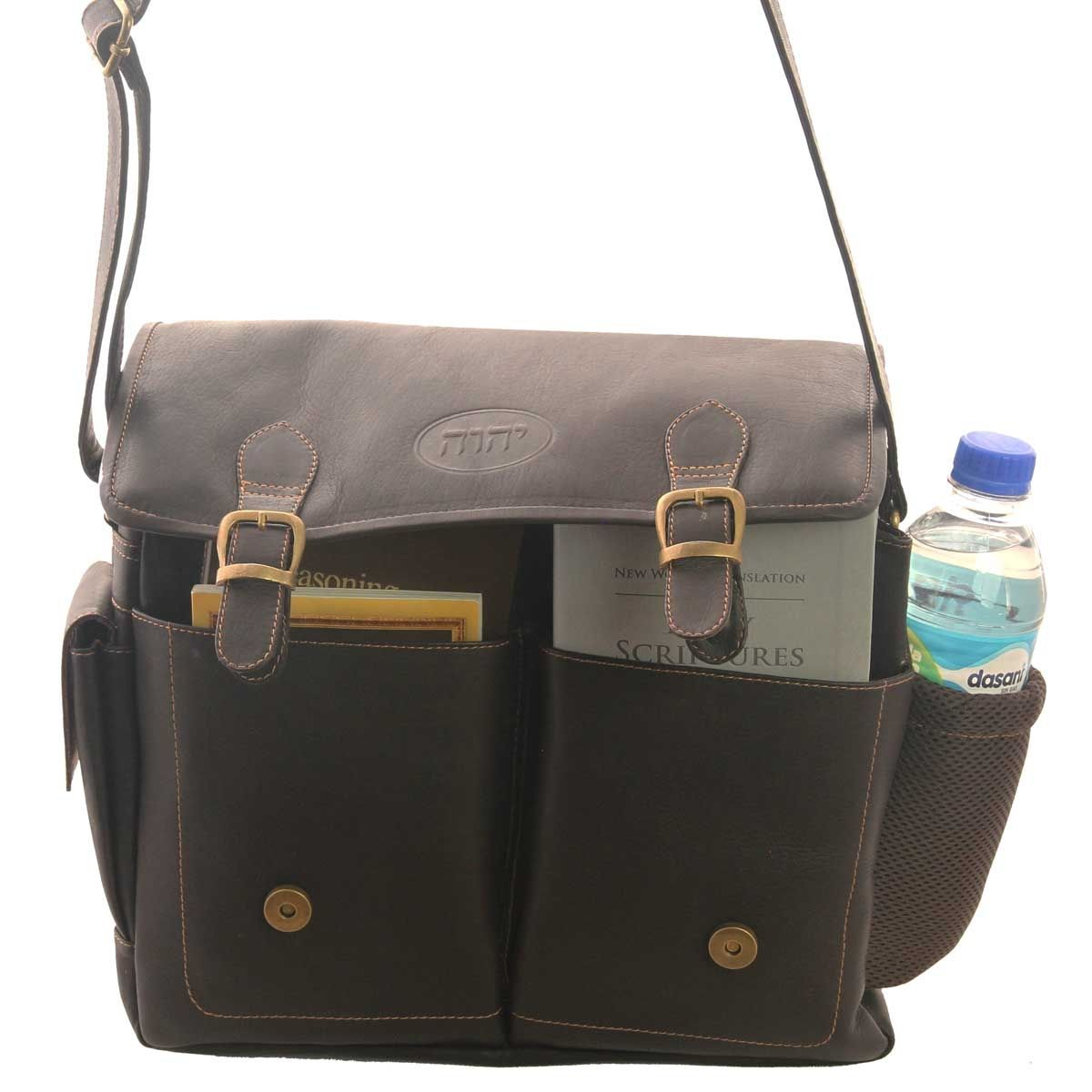 Leather Field Service Bag For The Traveling Jehovah S Witness