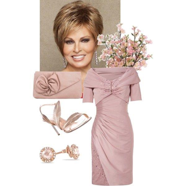 Mature woman wedding look | Vestiditos, Vestidos de fiesta y ...