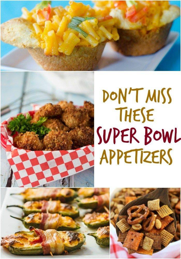 Over 20 Super Bowl Appetizer Recipes