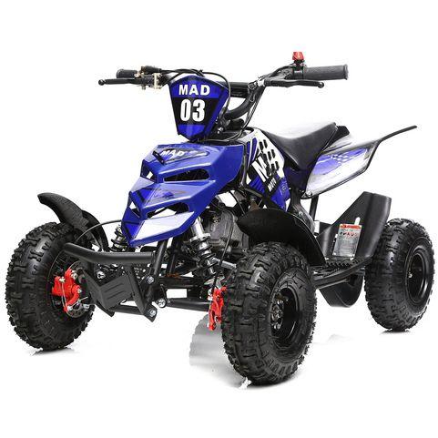 Kids Atv Quad Bike For Sale In Blue 2 Stroke 49cc Kids Atv