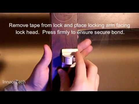 Innoo Tech Magnetic Child Safety Lock Installation