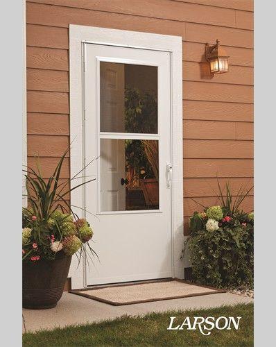 Storm Doors Larson Storm Doors Door Installation Storm Door Installation Larson Storm Doors