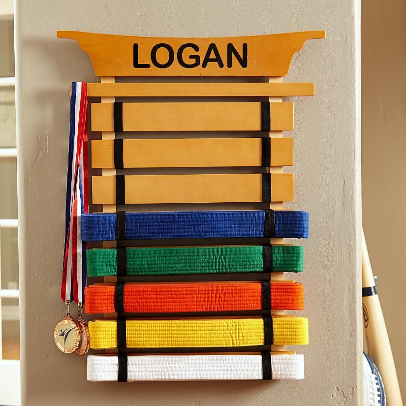 Kidkraft Martial Arts Belt Holder Personal Creations Martial Arts Belt Holder Karate Belt Display Belt Display