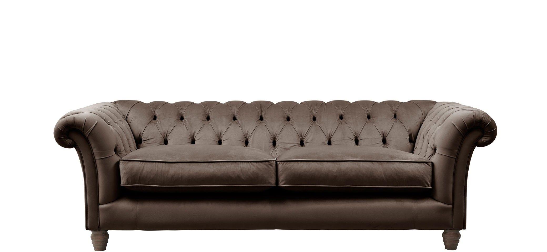 Grosvenor 3 Seater Sofa 3 Seater Sofa Sofa Velvet