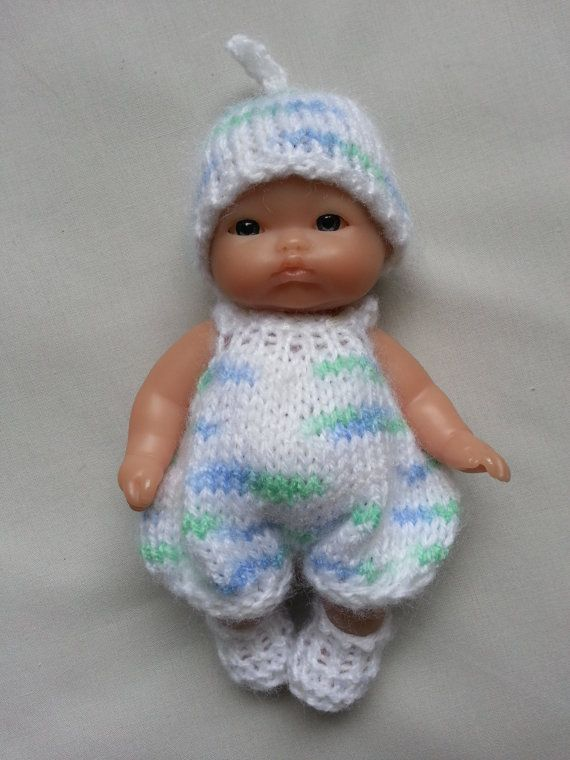 Hand Knitted Dolls Clothes For 5 Berenguer Doll 0001 Doll