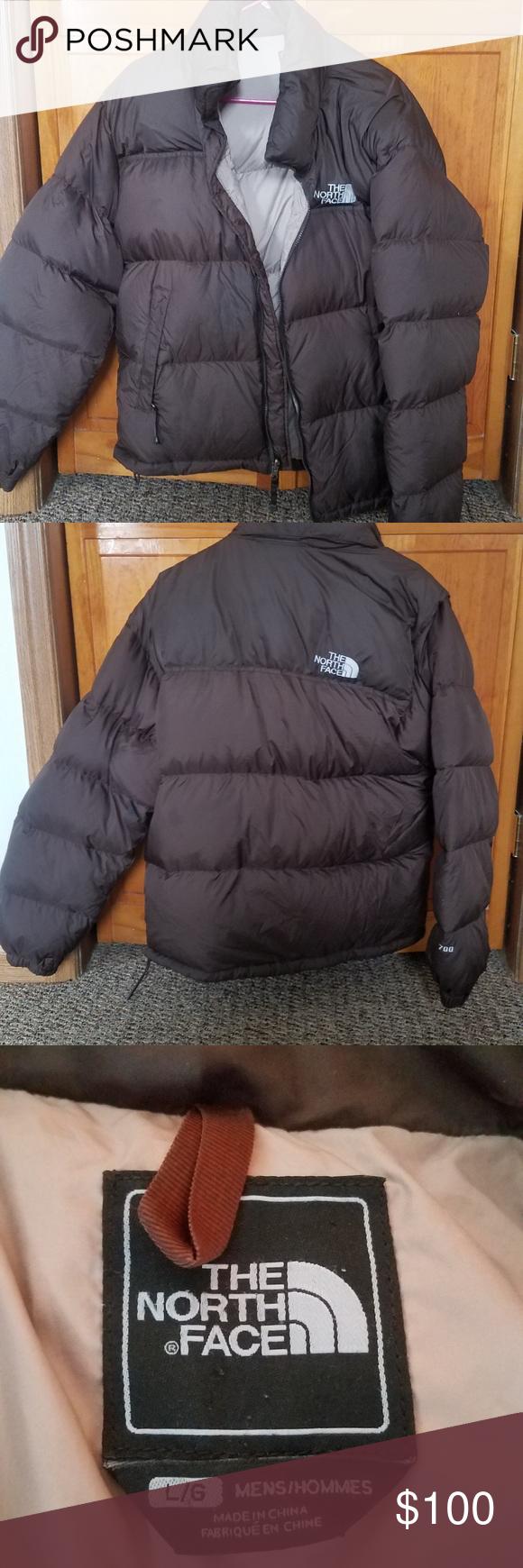 North Face Nuptse 700 Down Puffer Jacket Brown North Face Nuptse Jackets Clothes Design [ 1740 x 580 Pixel ]
