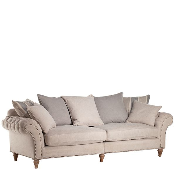 Craven Grand Sofa With Studs Sofas Living Room Sofa Sofas Living Room Sofa