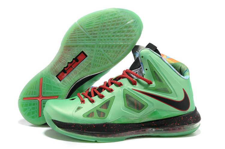 5a7014bbec62 Nike Christmas shoes Lebron 10 Christmas Green Cutting Jade Gr Jade China  541100 300 for sale 50% off