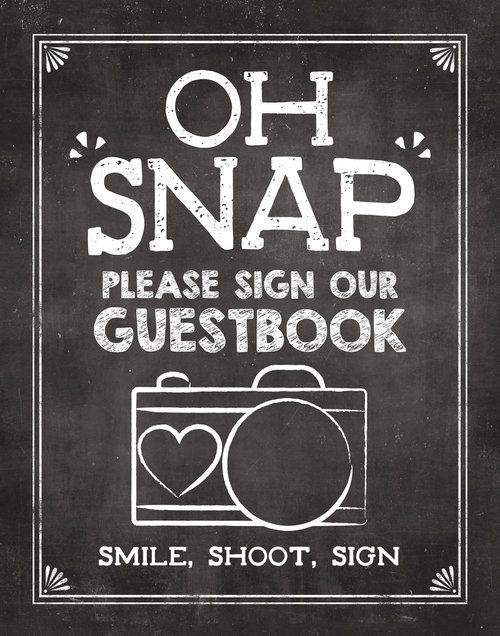 Photo Guestbook Sign available on Etsy from JoJoMiMi\u2026Rent cameras