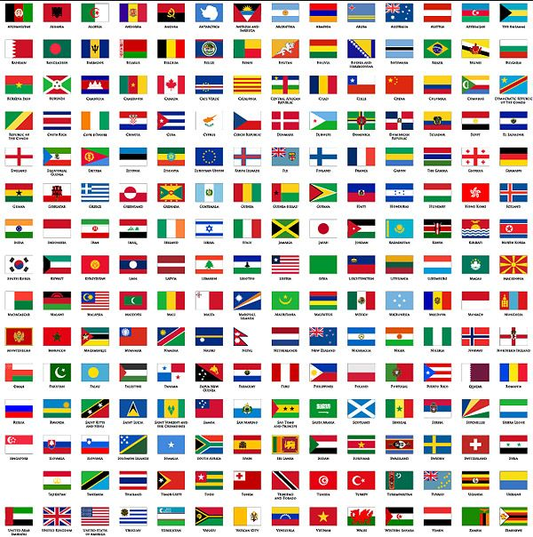Plane Countries In The World The National Flag And Regional Flag Over Millions Vectors Stock Photos Flags Of The World National Flag Countries Of The World