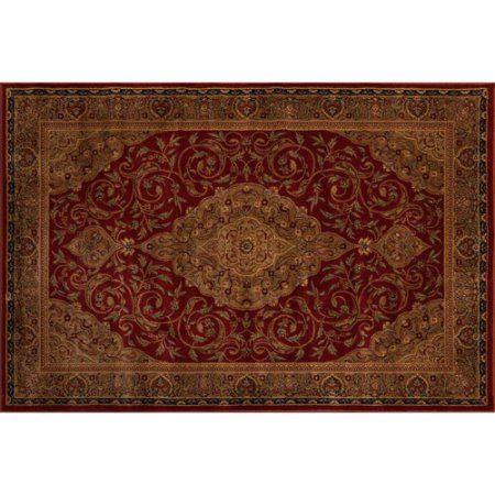 Better Homes And Gardens Gina Area Rug, Garnet Red, Multicolor