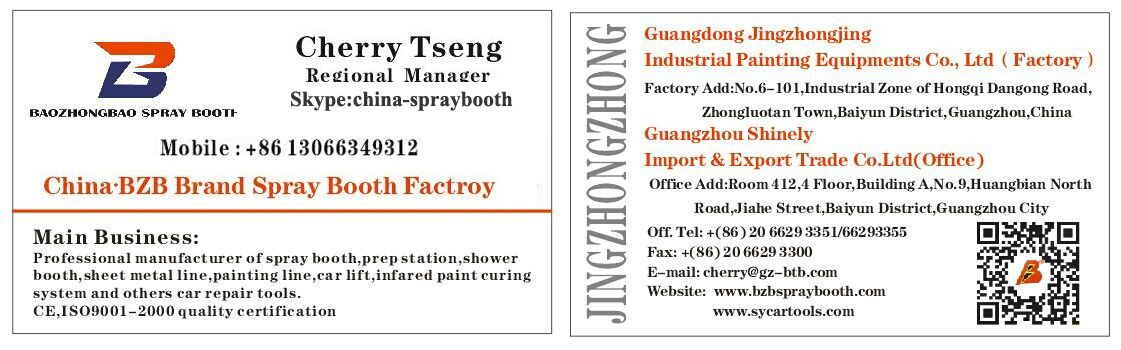 Bzb spray booth factory automechanika germany exhibiton in 2014 bzb spray booth factory automechanika germany exhibiton in 2014cherry tsengs business card reheart Images