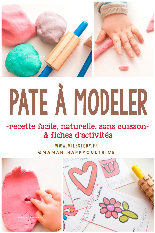 DIY : recette pâte à modeler naturelle facile et rapide sans cuisson pour bébés et enfants ...