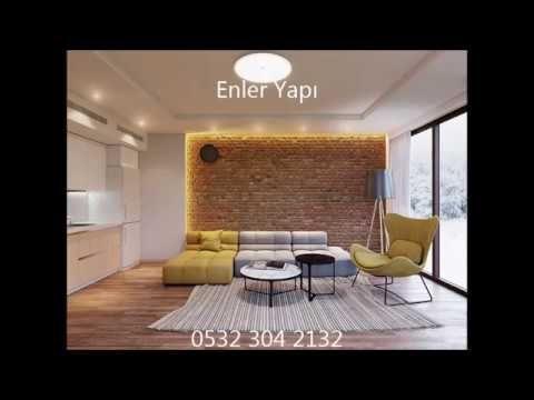 Brüt Beton Görünümlü Kaplama, Beton Görünümlü Duvar. Interior DesigningGym  InteriorBrick InteriorHome ...