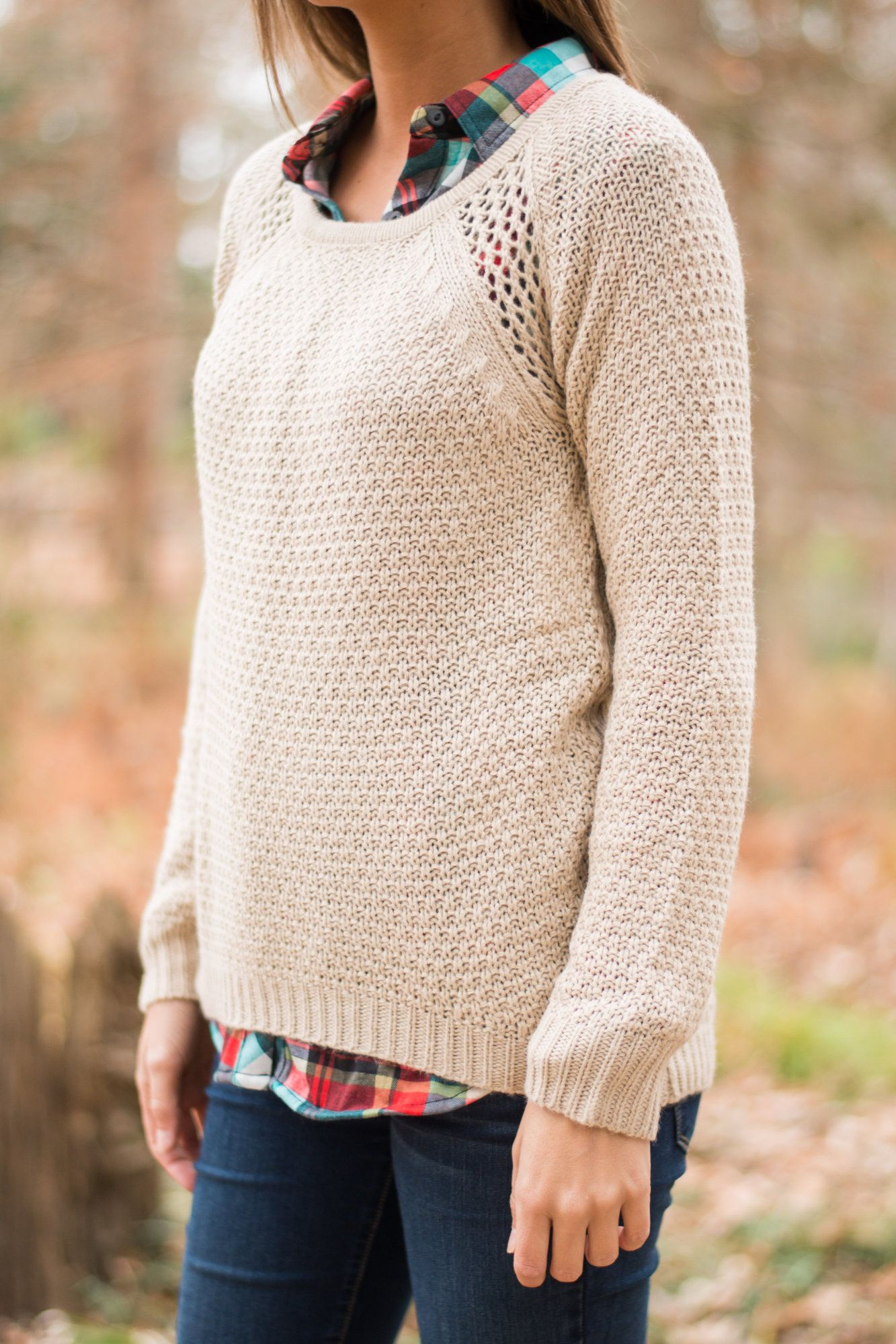 Another Day Sweater, Taupe - The Mint Julep Boutique ...