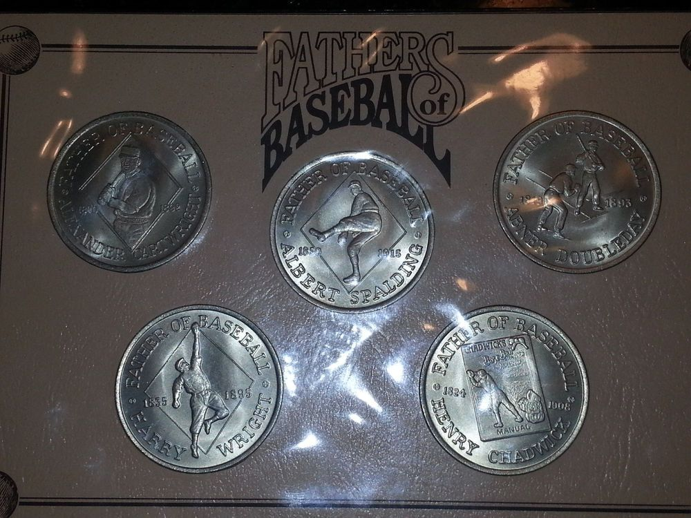 1992 Uncirculated 5 Dollars Hutt River Province Australia Set Of 5 Coins Proof Baseball Coins Coins Spalding