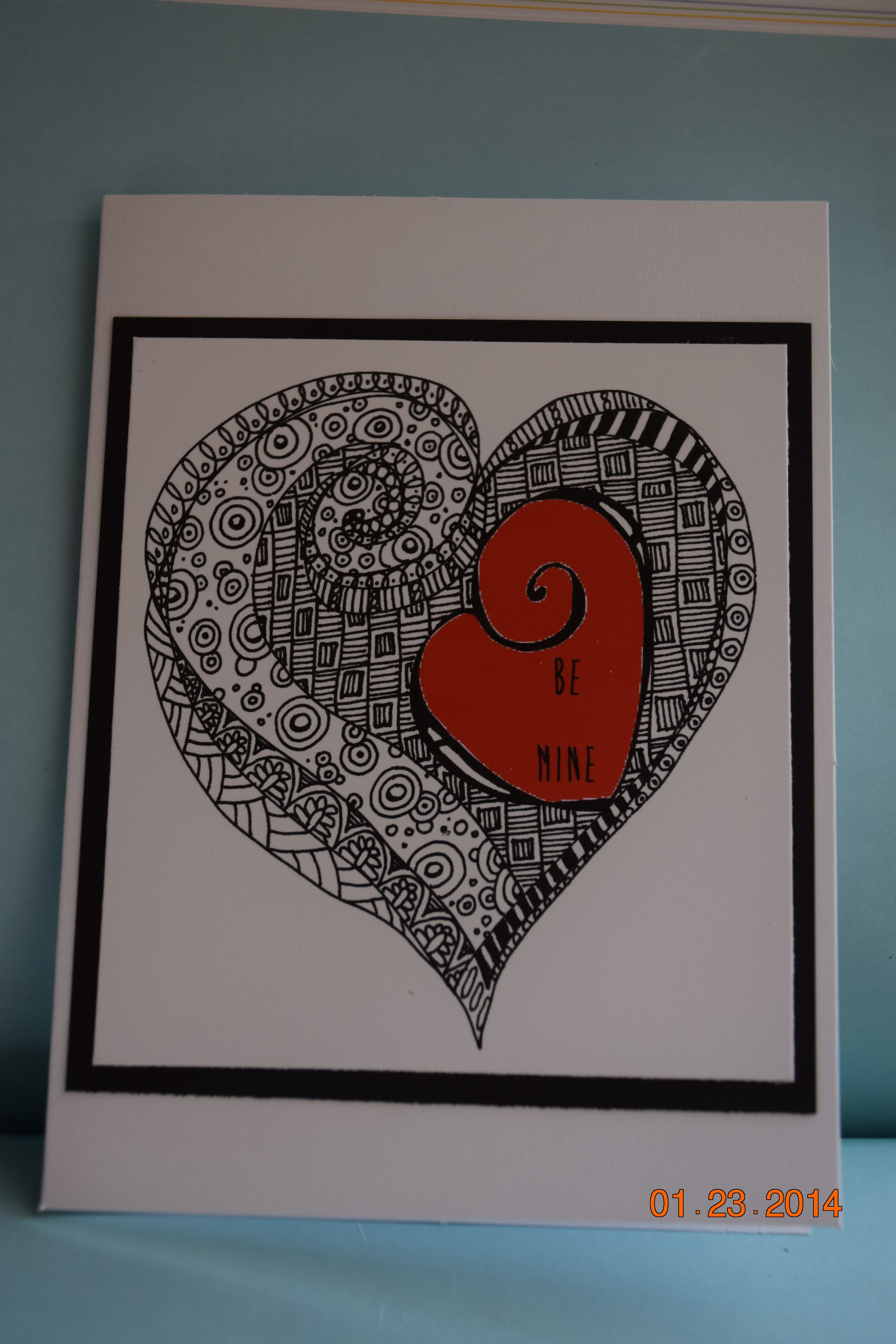 Cards Made By You Me Zentangle Patterns Cards Doodle Patterns