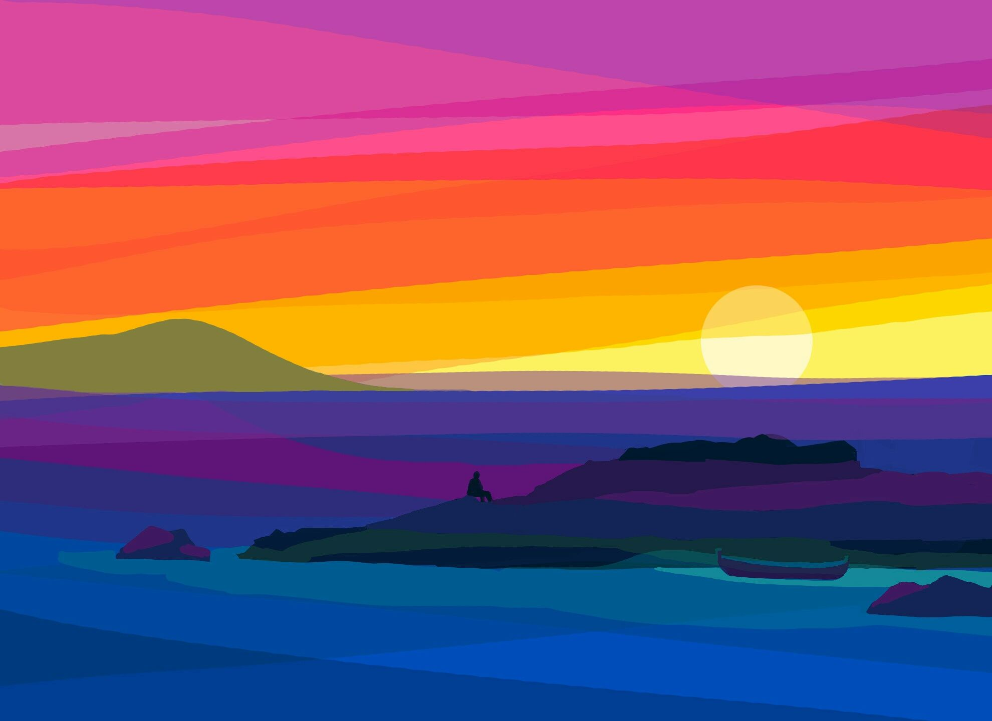 Sunrise Amanecer Pintado Con Picsaypro Android Material Design Aleatoric Blog Archive Circuitbending Tutorial