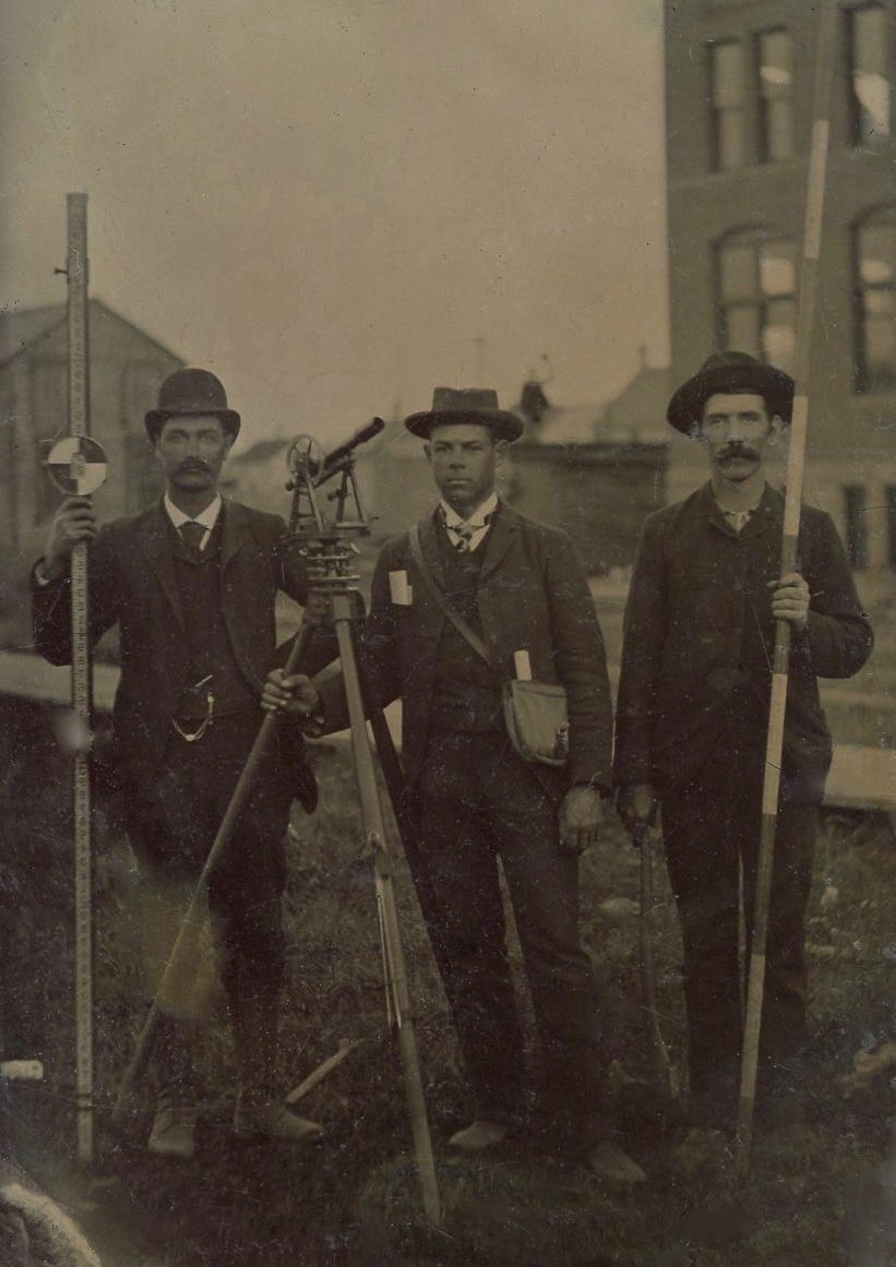 Early Surveyors Land surveying, Land surveyors, History