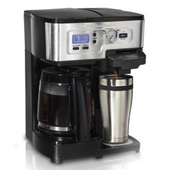 Hamilton Beach 2 Way Flexbrew Coffee Maker In 2020 Coffee Maker Best Coffee Maker Coffee