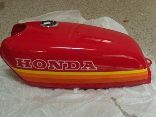 Nos Honda Cb 50 Cafe Racer New Original Fuel Gas Tank 1970s Vintage