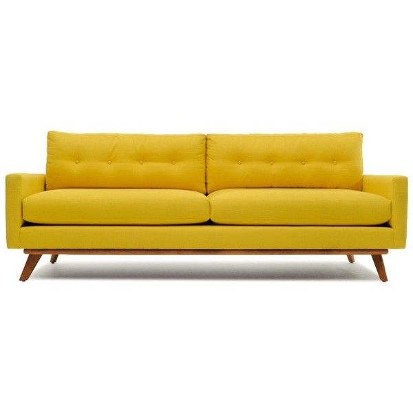 Chesterfield Sofa Thrive Fillmore Sofa liked on Polyvore featuring home furniture