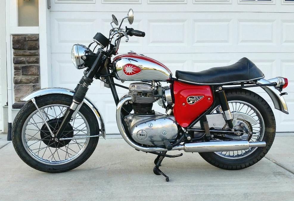 1967 Bsa A65 Lightning Vintage Bikes Bsa Motorcycle Old Bikes