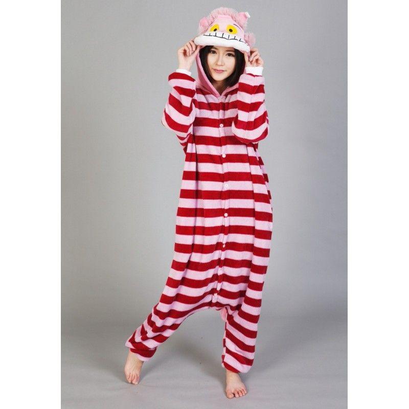 3f999bf6b Cheshire Cat Kigurumi Onesies Pajamas Costumes for Women & Men   Cat ...