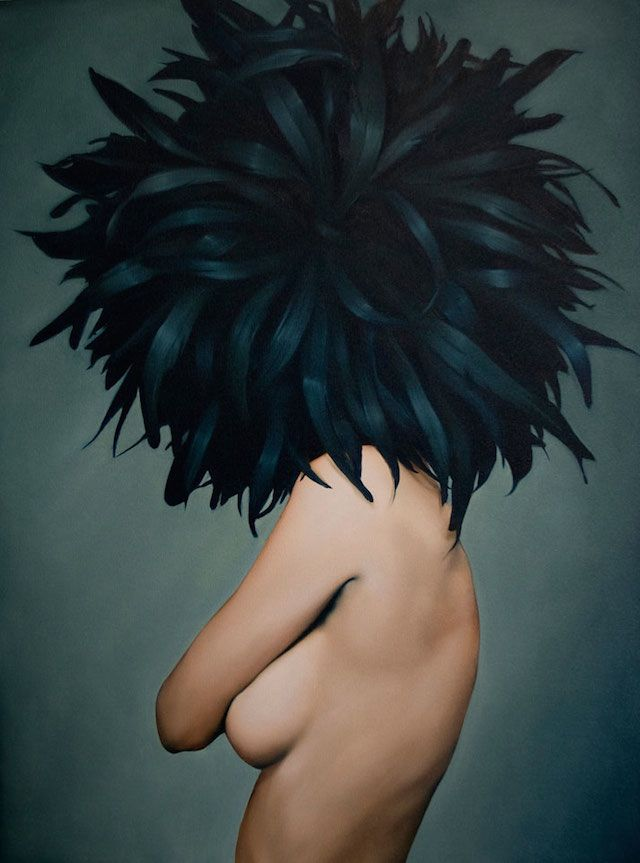 Women and Birds Realistic Paintings – Amy Judd