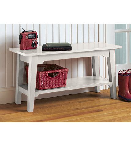 Painted Cottage Bench: Benches at L.L.Bean 36W 18D $139 | Cottage ...