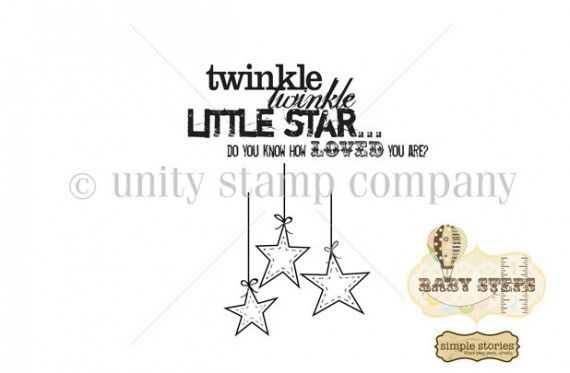 Twinkle Twinkle by Simple Stories-Unity Stamp Co | Unity stamps I