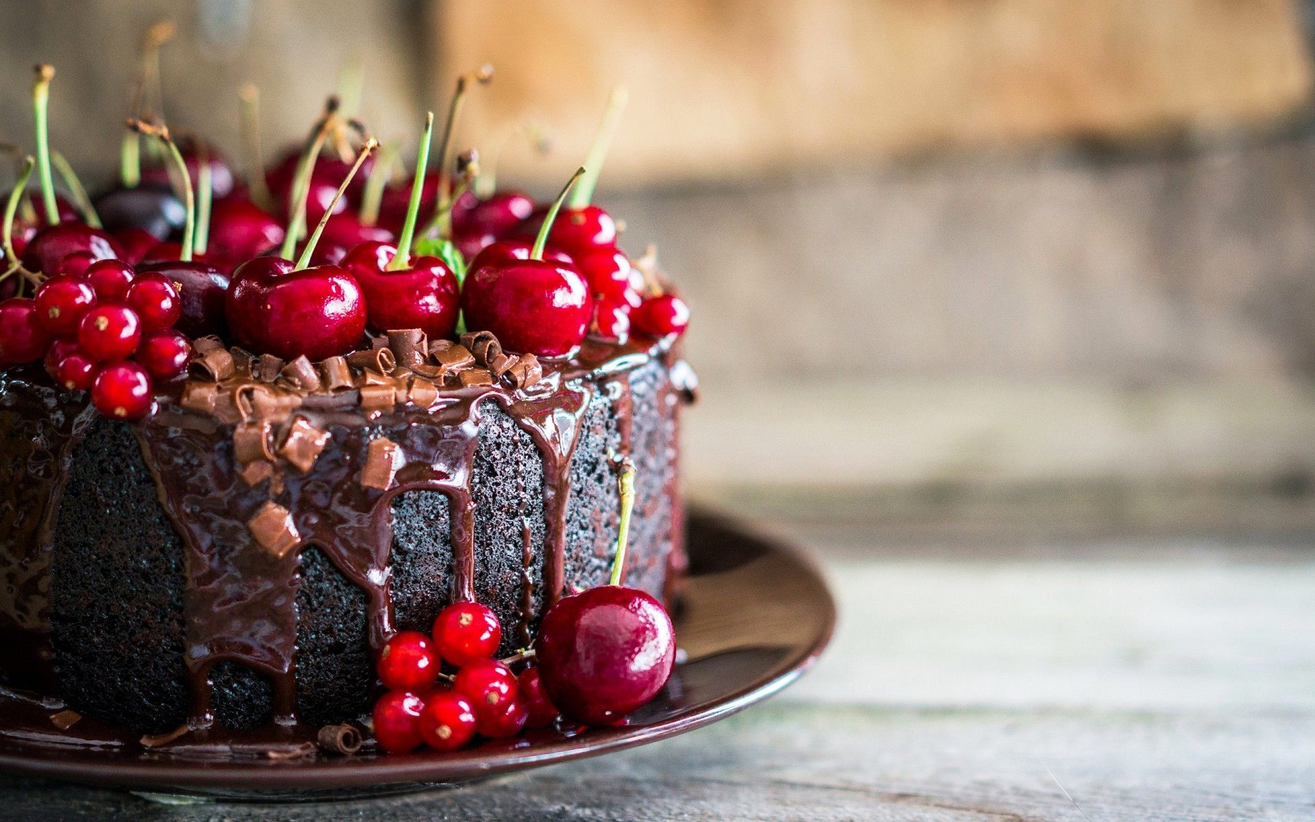 Chocolate-cherry-cake-for-you-birthday.jpg (1920×1200) | HAPPY ...