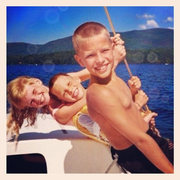 """I need a photo like this of my boys!   """"Three Kids Sailing"""" :The Best Photo My Father Ever Took"""