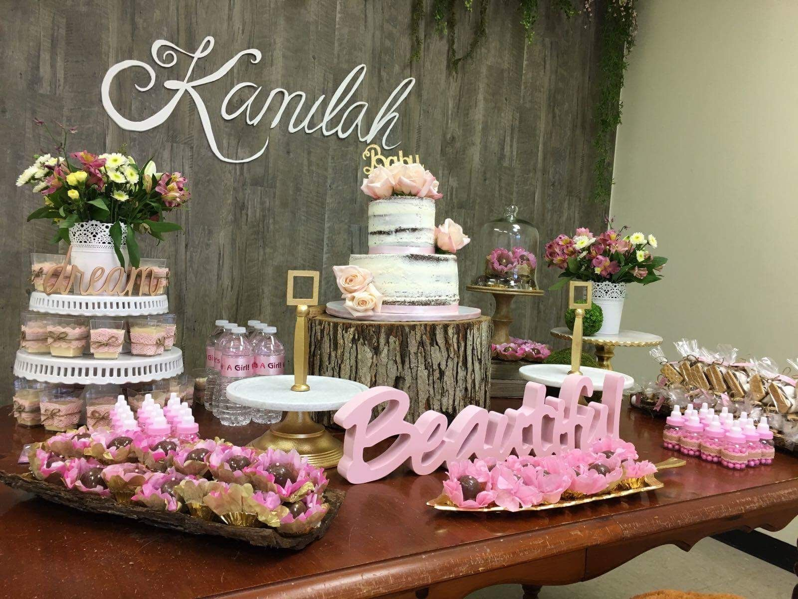 Decoration Ideas Baby Shower Girl Rustic Baby Shower Decor Wood Background Rustic Decor Baby Girl